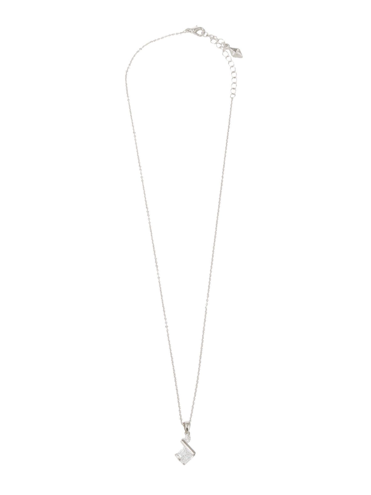 Bijou point necklace