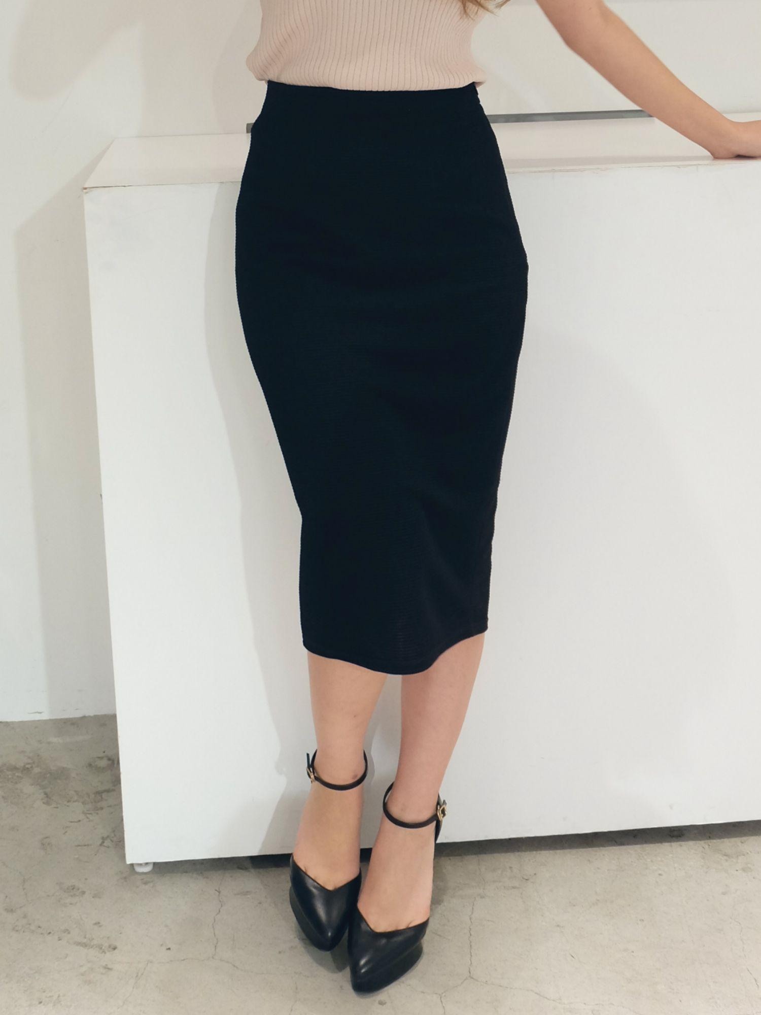 ベーシックリップルカットスカート