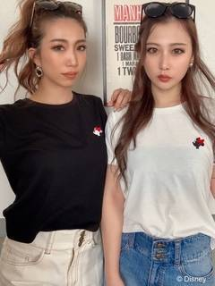 RESEXXY(リゼクシー) |<MINNIE MOUSE>POINT TEE 画像02