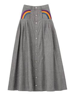 PAMEO POSE(パメオポーズ) |RAINBOW EMBROIDERED LONG SKIRT 画像22