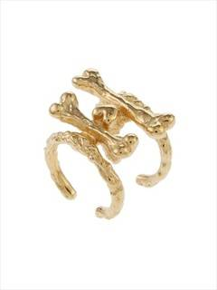 PAMEO POSE(パメオポーズ) |【O THONGTHAI】BIKER BONE RING SET 画像03