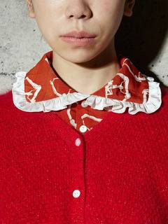 PAMEO POSE(パメオポーズ) |THREE GODS PATTERN COLLAR 画像02