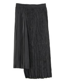 PAMEO POSE(パメオポーズ) |PLEATED GLOSSY SATIN SKIRT 画像19