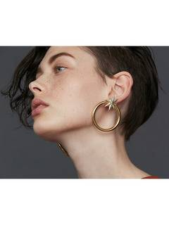 PAMEO POSE(パメオポーズ) |NUIT STAR EARRINGS GOLD 画像01