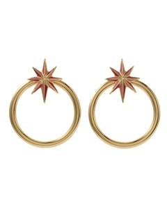 PAMEO POSE(パメオポーズ) |NUIT STAR EARRINGS GOLD 画像12