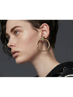 PAMEO POSE(パメオポーズ) |NUIT STAR EARRINGS GOLD 画像03
