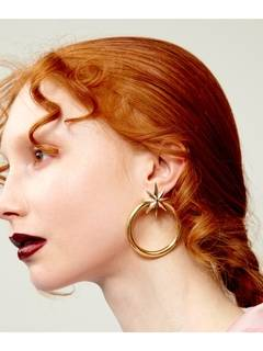 PAMEO POSE(パメオポーズ) |NUIT STAR EARRINGS GOLD 画像04