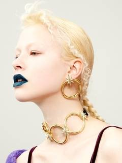 PAMEO POSE(パメオポーズ) |NUIT STAR EARRINGS GOLD 画像07