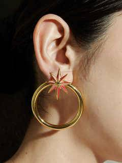PAMEO POSE(パメオポーズ) |NUIT STAR EARRINGS GOLD 画像010
