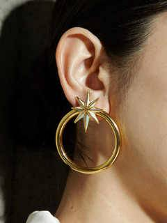 PAMEO POSE(パメオポーズ) |NUIT STAR EARRINGS GOLD 画像11