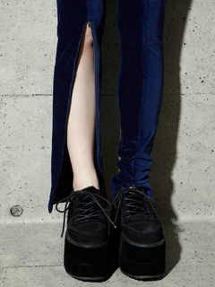 PAMEO POSE(パメオポーズ) |STRETCH CORDUROY SPLIT LEGGING 画像13