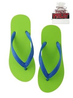 PAMEO POSE(パメオポーズ) |NATURAL RUBBER FLIP FLOPS LIME 画像01