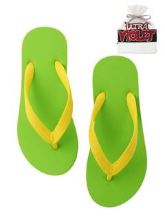 PAMEO POSE(パメオポーズ) |NATURAL RUBBER FLIP FLOPS LIME 画像010