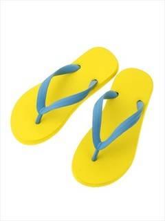 PAMEO POSE(パメオポーズ) |NATURAL RUBBER FLIP FLOPS YELLOW 画像02