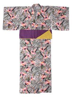 PAMEO POSE(パメオポーズ) |THREE HEADS FLAMINGO YUKATA 画像40