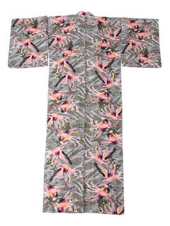 PAMEO POSE(パメオポーズ) |THREE HEADS FLAMINGO YUKATA 画像32