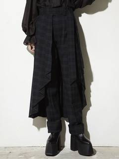 PAMEO POSE(パメオポーズ) |PLEATED SKIRT BELT PLAID 画像09
