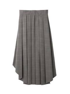 PAMEO POSE(パメオポーズ) |PLEATED SKIRT BELT PLAID 画像14