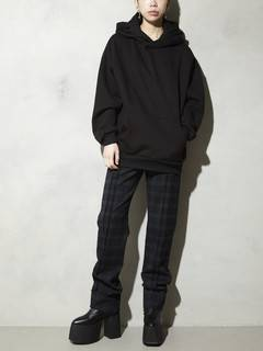 PAMEO POSE(パメオポーズ) |DOUBLE HOODED SWEATSHIRTS 画像09