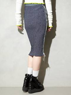 PAMEO POSE(パメオポーズ) |KITTEN GLITTER STRIPE KNIT SKIRT 画像25
