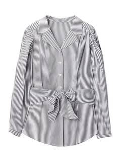 PAMEO POSE(パメオポーズ) |POWER SHOULDER STRIPE SHIRT 画像31