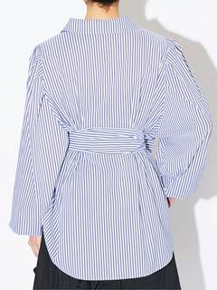 PAMEO POSE(パメオポーズ) |POWER SHOULDER STRIPE SHIRT 画像20