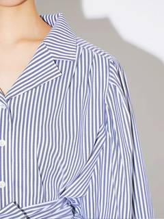 PAMEO POSE(パメオポーズ) |POWER SHOULDER STRIPE SHIRT 画像21