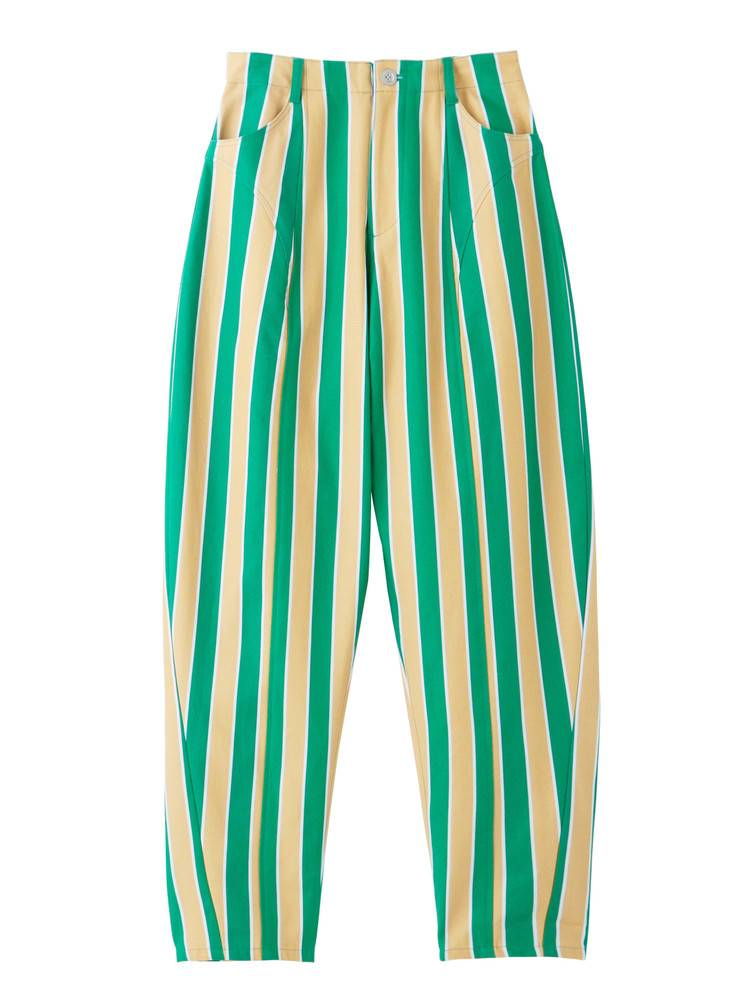 PAMEO POSE STRIPE TAPERD PANTS