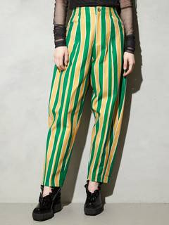 PAMEO POSE(パメオポーズ) |STRIPE TAPERD PANTS 画像03