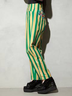 PAMEO POSE(パメオポーズ) |STRIPE TAPERD PANTS 画像04