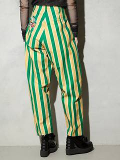 PAMEO POSE(パメオポーズ) |STRIPE TAPERD PANTS 画像05