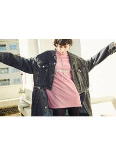 PAMEO POSE(パメオポーズ) |3 WAY BIG DENIM JACKET 画像04