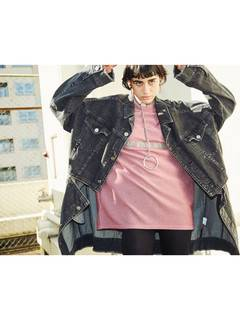 PAMEO POSE(パメオポーズ) |3 WAY BIG DENIM JACKET 画像05