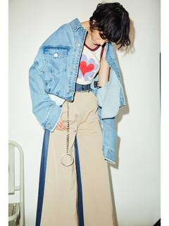 PAMEO POSE(パメオポーズ) |3 WAY BIG DENIM JACKET 画像010