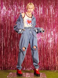 PAMEO POSE(パメオポーズ) |3 WAY BIG DENIM JACKET 画像14