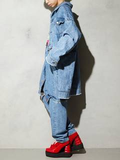 PAMEO POSE(パメオポーズ) |3 WAY BIG DENIM JACKET 画像16