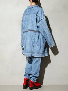 PAMEO POSE(パメオポーズ) |3 WAY BIG DENIM JACKET 画像17