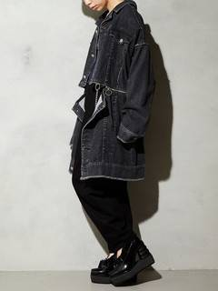 PAMEO POSE(パメオポーズ) |3 WAY BIG DENIM JACKET 画像22