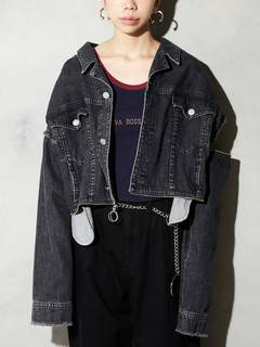 PAMEO POSE(パメオポーズ) |3 WAY BIG DENIM JACKET 画像25