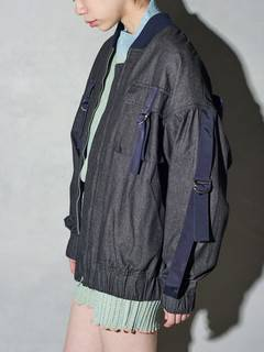 PAMEO POSE(パメオポーズ) |DENIM LINE BIG BLOUSON 画像21