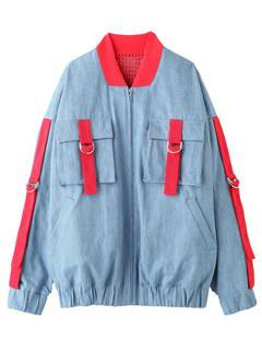 PAMEO POSE(パメオポーズ) |DENIM LINE BIG BLOUSON