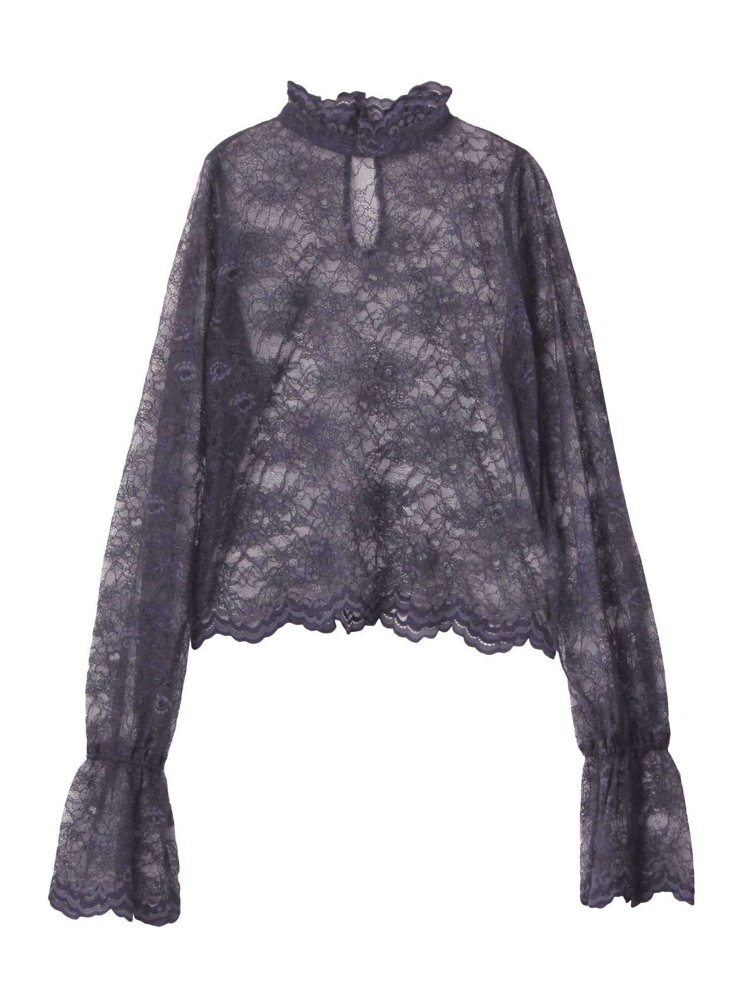 Back To Front Lace BL