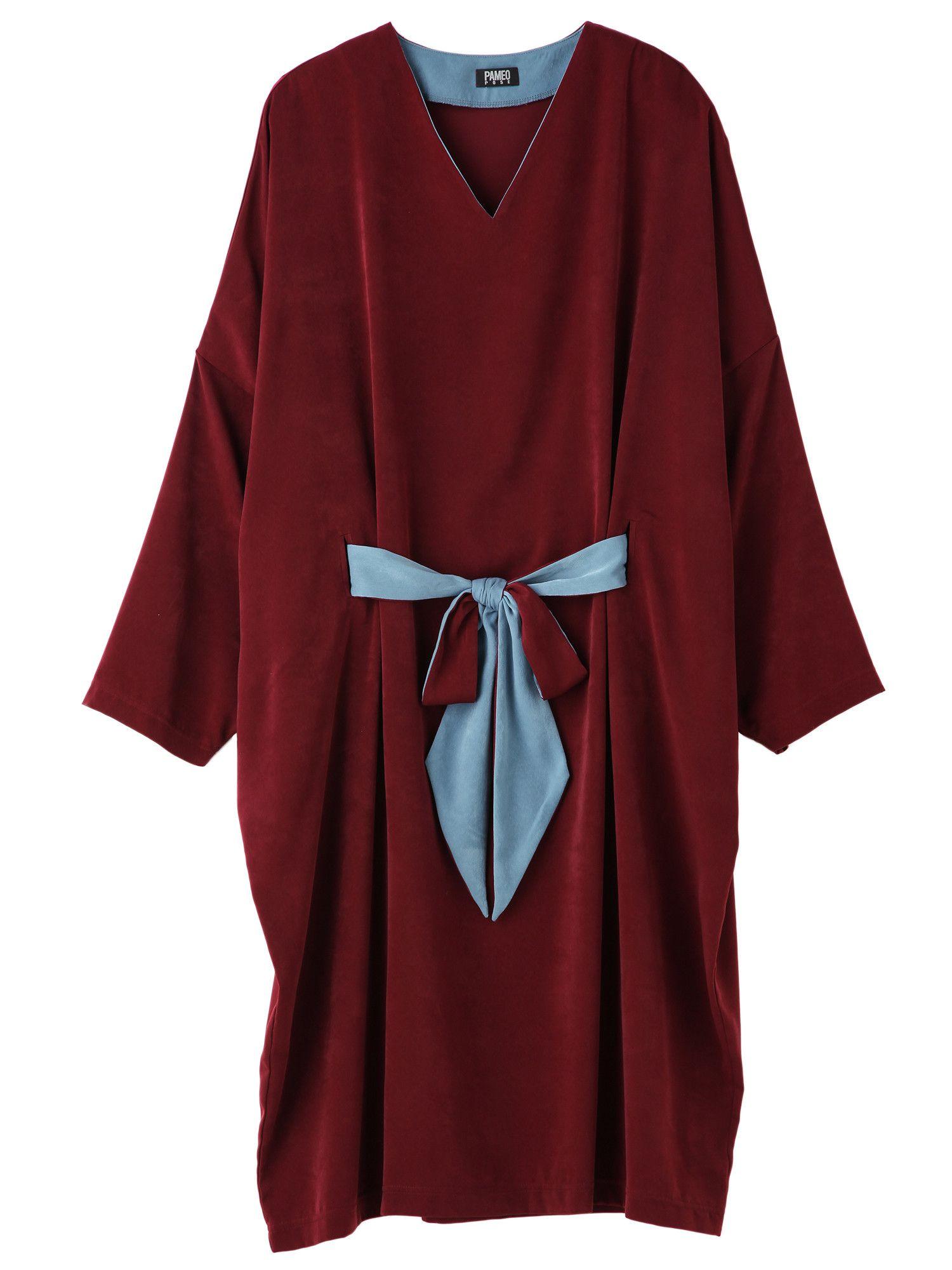 Satin Cocoon Dress