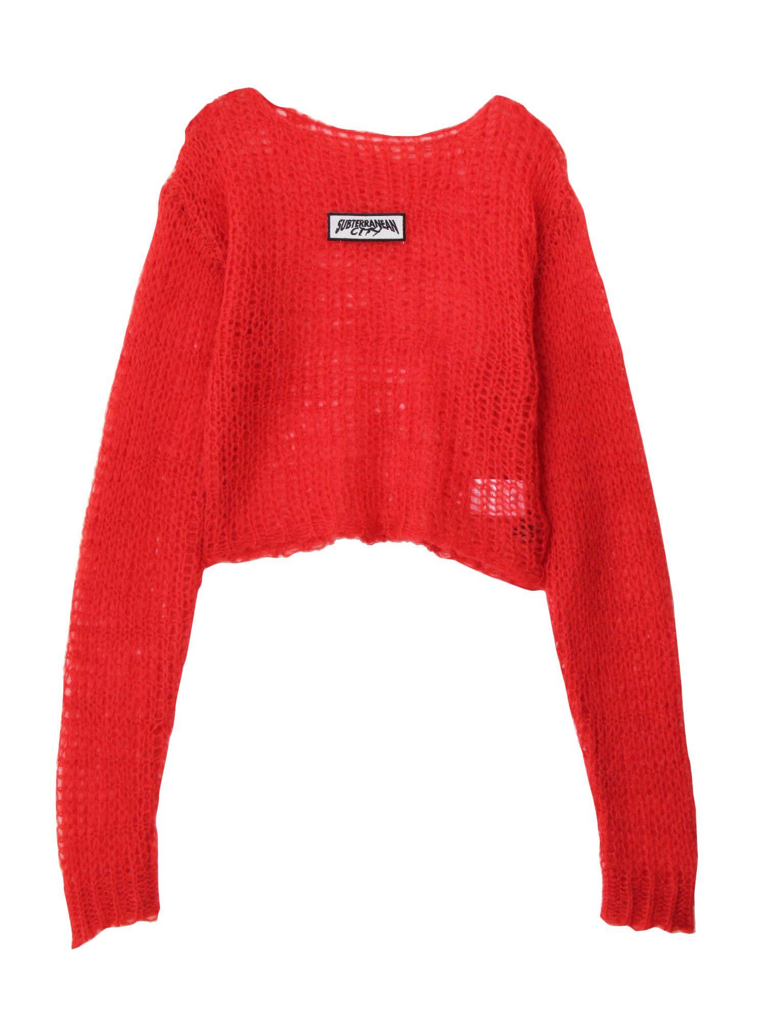 Mohair 90's Knit Top