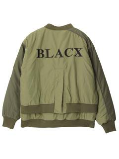 PAMEO POSE(パメオポーズ) |【BLACX】POCKET DETAIL MA1 JK 画像16