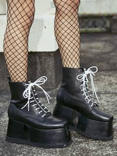 PAMEO POSE(パメオポーズ) |2WAY LACE UP BOOTS 画像03