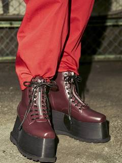 PAMEO POSE(パメオポーズ) |2WAY LACE UP BOOTS 画像05