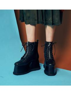 PAMEO POSE(パメオポーズ) |2WAY LACE UP BOOTS 画像010