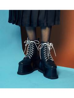 PAMEO POSE(パメオポーズ) |2WAY LACE UP BOOTS 画像12