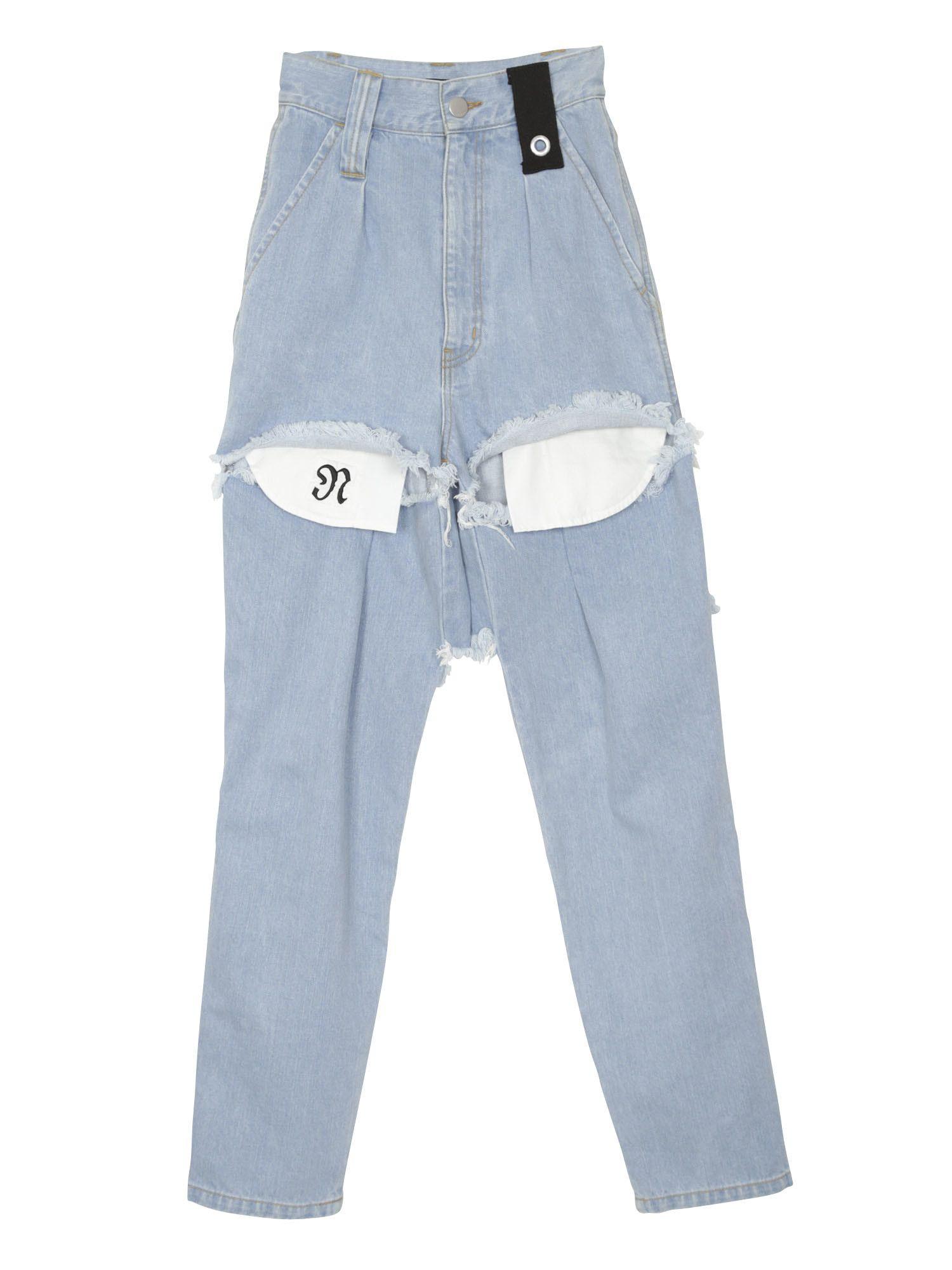 Big Pocket Denim Pants
